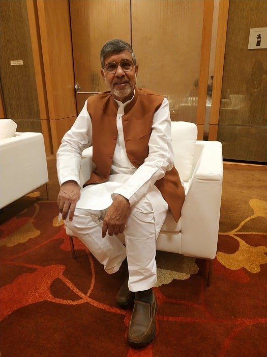Nobel laureate Kailash Satyarthi urges 'globalisation of compassion'