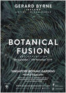 Botanical Fusion – Singapore Botanic Gardens Exhibition by Irish artist Gerard Byrne