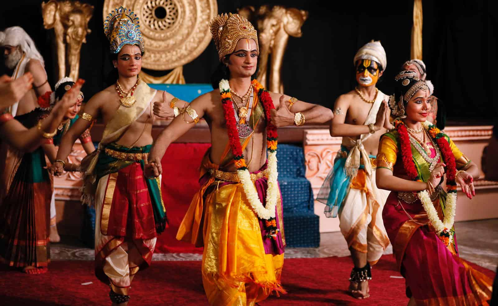SIFAS - Classical Dance 2. Image credit to Indian Heritage Centre