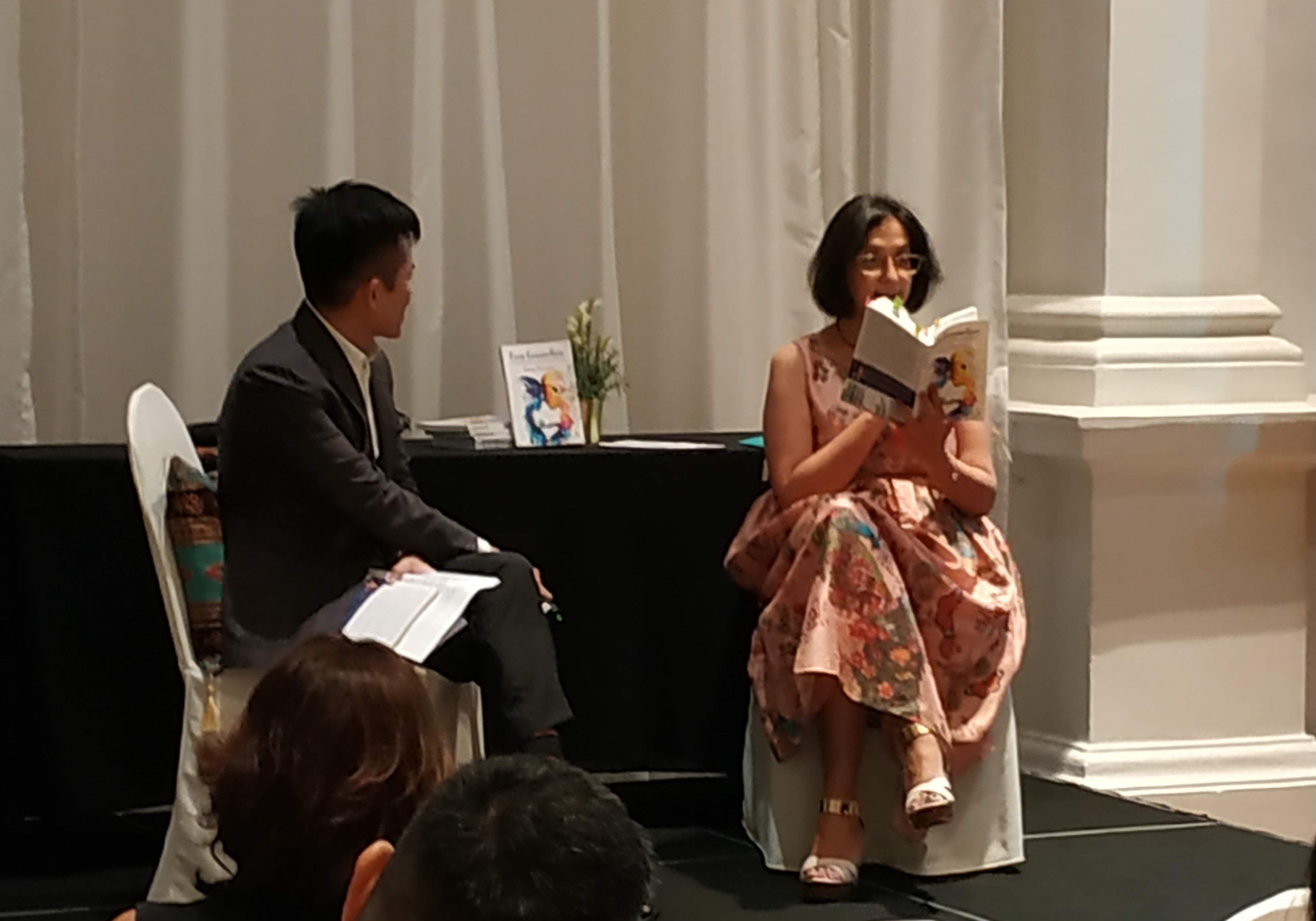 Seema Punwani reading from her book